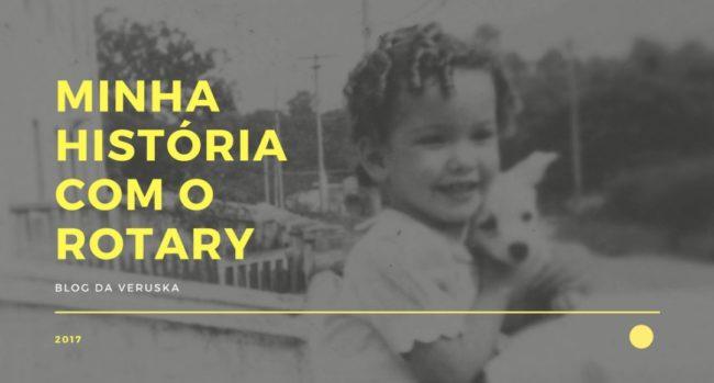 Minha história com o Rotary