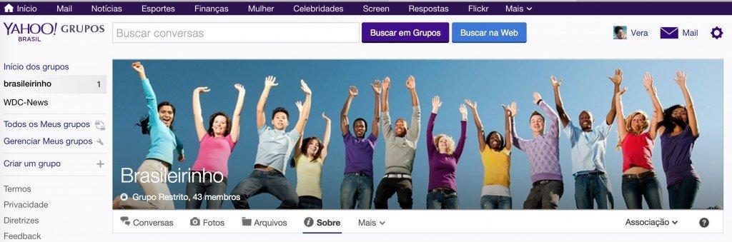 Yahoo Grupos - Brasileirinho